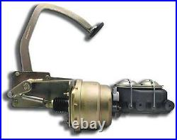 1941 1948 Ford Car 7 Dual Power Brake Booster Pedal Kit with Master Cylinder