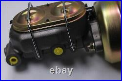 1949-1954 Chevy Car Frame Mount Brake Pedal Assembly+7Dual Power Booster+Master