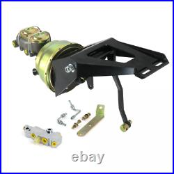 55-59 Chevy Truck Firewall 7 Dual Brake Pedal Kit Disc/Drum No Pedal Pad