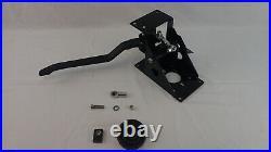 90 degree under dash power brake pedal + 7 dual power brake booster
