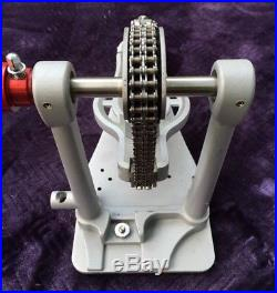 AMAZING Ludwig Atlas Pro Double Bass Drum Pedal, Barely Used/Stellar Action