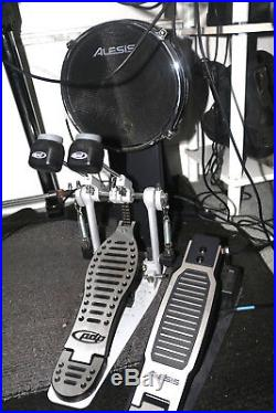 Alesis Command Electronic Drum Kit 8 piece with double bass pedal, chair & sticks