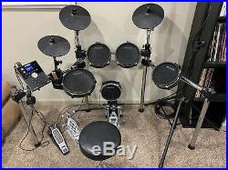 Alesis Command Mesh Electronic Drum Kit with PDP Double Bass Pedal and More