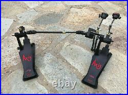 Axis A Longboard black Double Bass Drum Pedals! Excellent