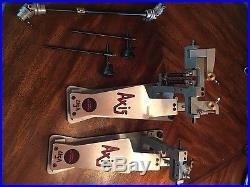 Axis Longboard A Double Bass Drum Pedal Used