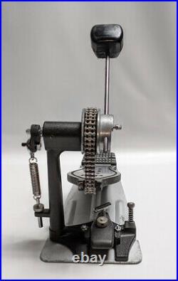 CUSTOM DW 9000 5000 HYBRID Single Bass Drum Pedal Dual Chain DWCP9000
