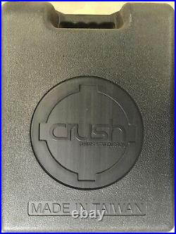 Crush Drums & Percussion M-1 Double Bass Drum Pedal/Model # M1DBDP/Brand New