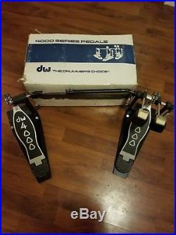 DW 4000 Double Bass/Kick Drum Pedal