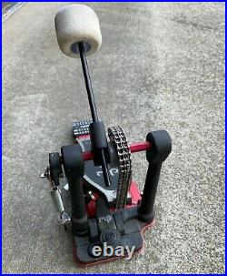 DW 5000 Bass Drum Pedal Double Chain Clean + Excellent + Ready to Ship