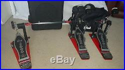 DW 5000 Double AND Single Bass Drum Pedals including cases