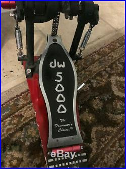 DW 5000 Double Bass Drum Pedal 5002