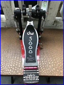 DW 5000 Double Bass Drum Pedal LEFTY