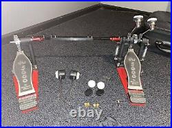 DW 5000 Double Bass Drum Pedal with Case
