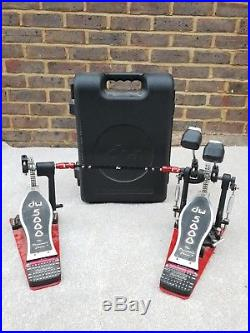 DW 5000 Double Bass Kick Drum Pedal with Hard Case Drum Hardware