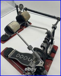 DW 5000 Double Bass Kick Drum Pedal with Pearl Aluminium Drive Shaft USA
