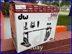 DW 5000 Series Accelerator Double Bass Drum Pedal with Bag