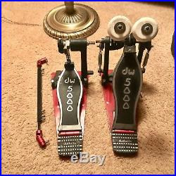 DW 5000 Series Double Bass Drum Pedal With Case