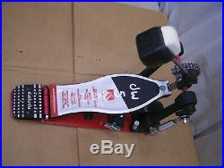 DW 5000 bass drum pedal, pro series with double chain