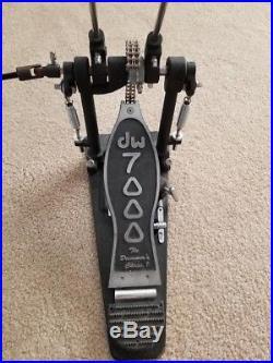 DW 7000 Double Bass Drum Pedal Double Chain Drive