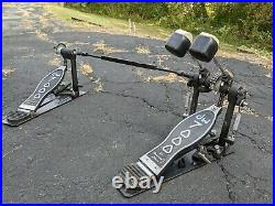 DW 7000 Double Bass Drum Pedal Good Condition