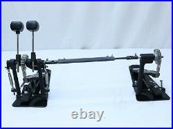 DW 7000 Drum Workshop Double Kick Drum Bass Chain Drive Pedal Twin Pedals