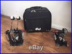 DW 8000 Double Bass Drum Pedal, with case. Drum Workshop