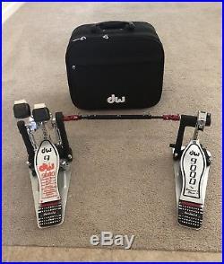 DW 9000 Double Bass Drum Pedal (Left) MINT Condition