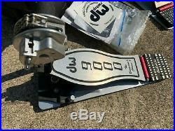 DW 9000 Double Bass Drum Pedal with Case