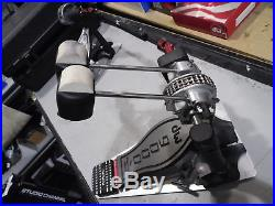 DW 9000 Double Bass Kick Drum Pedal with Case