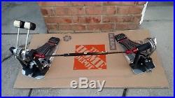 DW 9000 Series Double Bass Drum Pedal DWCP9002. MINT