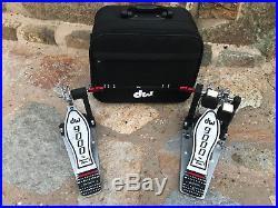DW 9000 Series Double Bass Drum Pedal Excellent
