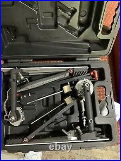 DW 9000-Series Double Bass Drum Pedal with Hard Case DWCP9002PC