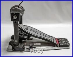 DW 9000 Single Bass Drum Pedal Dual Chain DWCP9000 Heavy Duty