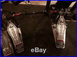DW 9002 DOUBLE BASS DRUM PEDAL WithCASE
