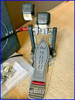 DW 9002 Double Bass Kick Drum Pedal with Hard Case