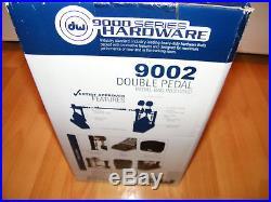 DW 9002 Double Drumpedal Doppelfußmaschine