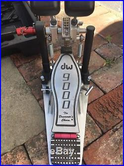 DW 9002 (Drum Workshop) 9000 Series Double Bass Drum Pedal with Case