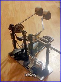 DW DRUM WORKSHOP 5000-Series Double Bass Kick Drum Pedal L2 VINTAGE 1980s