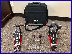 DW Drum Workshop 5000 Series Double Bass Kick Drum Pedal Newest Generation