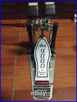 DW Drum Workshop 9000 Double Bass Drum Pedal