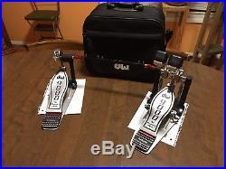 DW Drums DW 9000 Series Double Bass Pedal Drum Workshop