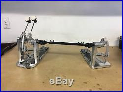DW Drums MDD2 Drum Workshop Machined Direct Drive Double bass pedal NICE
