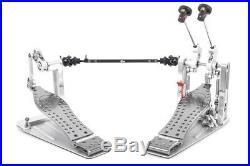 DW Machine Drive Double Bass Drum Pedal & Case