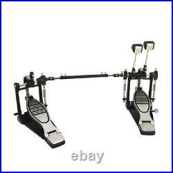 Dimavery DFM-1000 Bass Drum Double Pedal Heavy Duty Kick Drum Chain