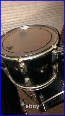 Double bass drum set