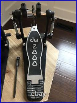 Drum Workshop DW 2000 Double Bass Drum Pedal, Kick Pedal