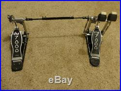 Drum Workshop DW 7000 Chain Driven Double Bass Pedal, Excellent, Barely Used
