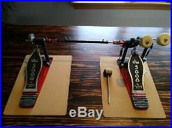Drum Workshop DW DWCP5002AD4 Delta III Accelerator Double Bass Drum Pedal Used