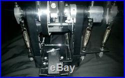 Duallist D3 Triple (quadruple) Drum Pedal Double Bass First Day Shipping 1-3days