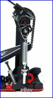 Dw 5000 Series Bass Drum Pedal Dual Chain Drive Accelerator Single Dwcp5000ad4